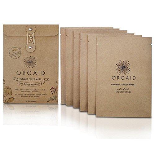 Orgaid - Anti-aging & Moisturizing Organic Sheet Mask