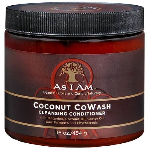 I Am - As I Am Coconut Cowash Cleansing Conditioner, 16 Oz (Pack of 3)