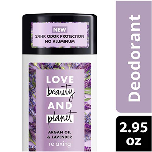 Love Beauty And Planet  Aluminum-free Deodorant, Argan Oil and Lavender