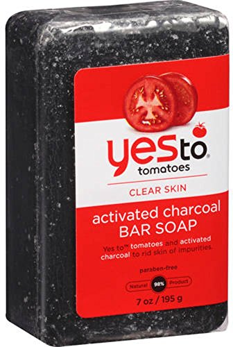 Yes to - Tomatoes Clear Skin Activated Charcoal Bar Soap