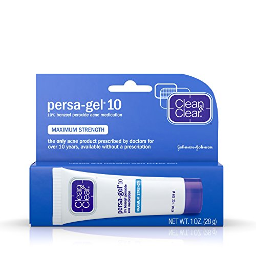 Clean & Clear - Clean & Clear Persa-Gel 10, Maximum Strength Acne Medication, 1-Ounce Tubes (Pack of 4)