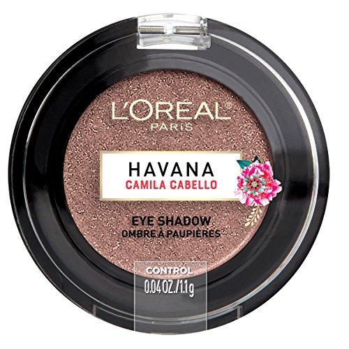 L'Oreal Paris - L'Oreal Paris Cosmetics X Camila Cabello Havana Eye Shadow, Control, 0.04 Ounce