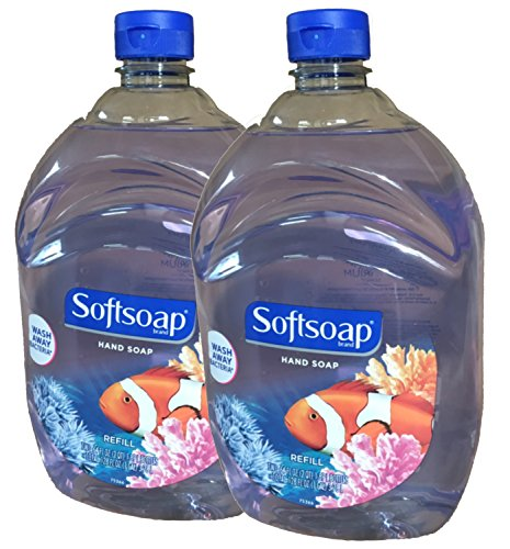 Softsoap - Softsoap Liquid Hand Soap, Aquarium Series, 64-Ounce Refill Bottle, Pack of 2