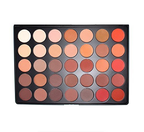 Morphe Morphe Brushes - 35OM - 35 Color Matte Nature Glow Eyeshadow Palette by MORPHE