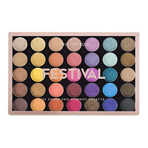 Profusion Cosmetics - Profusion Cosmetics 35 Shade Eyeshadow Palette Collection, Festival