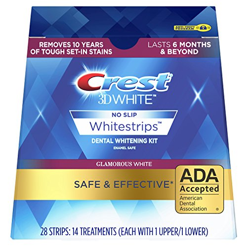 Crest - Crest 3D Luxe White Strips Glamorous Teeth Whitening Kit, 14 Count