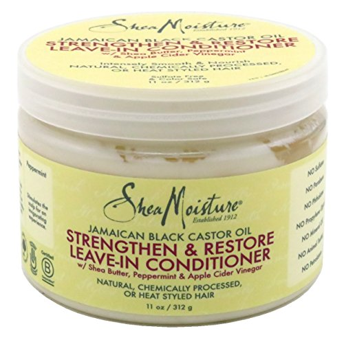 Shea Moisture - Shea Moisture Jamaican Black Conditioner Leave-In 11 Ounce Jar (325ml) (6 Pack)