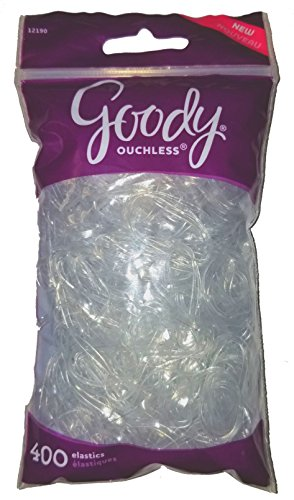 Goody - Goody Ouchless Large Clear Elastic 400 Count