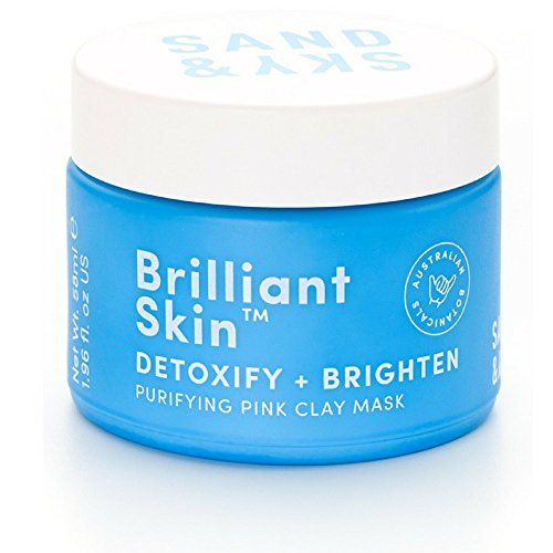 Sand & Sky Skin Brightening Face Mask, Australian Pink Clay