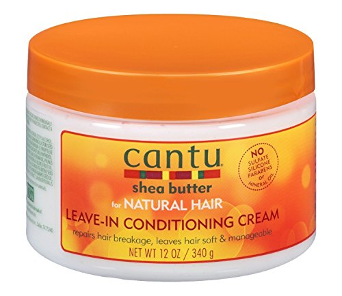Cantu - Cantu Shea Butter for Natural Hair Leave In Conditioning Repair Cream, 12 Ounce