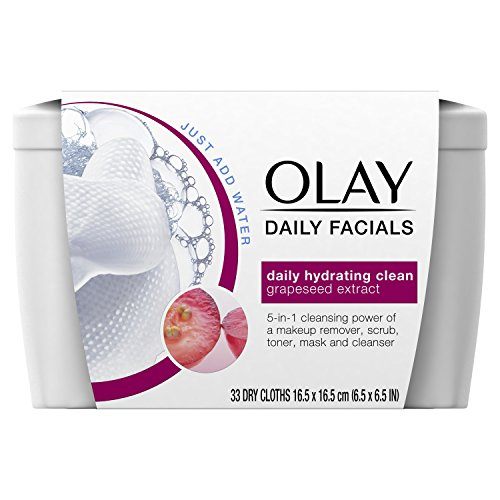 Olay 5-in-1 Water Activated Cleansing Cloths