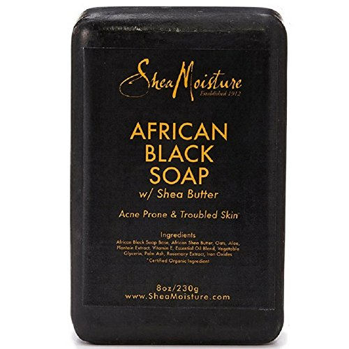 Shea Moisture - African Black Soap With Shea Butter