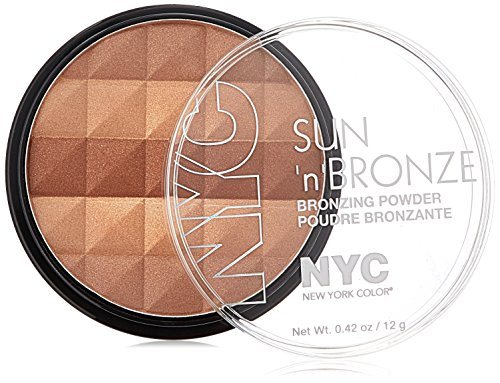 NYC - N.Y.C. New York Color Sun Bronzing Powder, Fire Island Tan, 0.42 Ounce