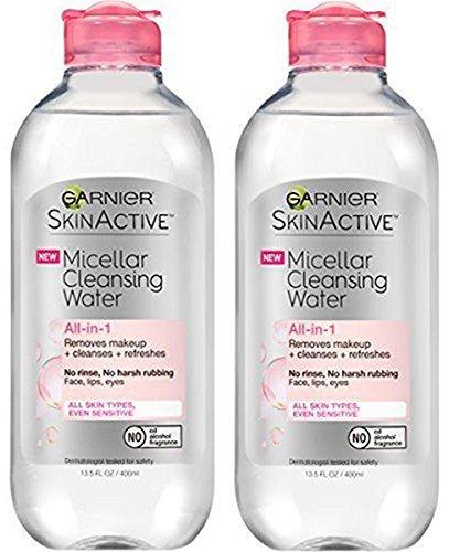 Garnier - Garnier SkinActive Micellar Cleansing Water, 2 Count Each 13.5 Fl Oz