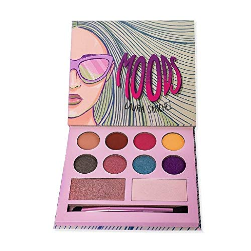 Laura Cosmetics Moods Eyeshadow and Highlighter Palette
