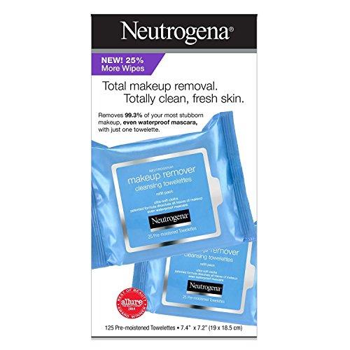 Neutrogena - Neutrogena Make Up Remover Facial Wipes (125 CT)
