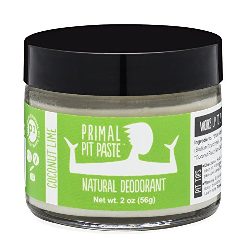 Primal Pit Paste - All Natural Coconut Lime Deodorant