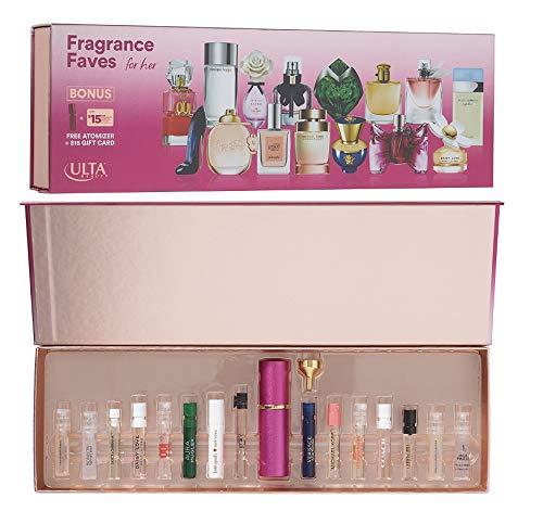 Ulta - 15-pcs Fragrance Sampler w/Atomizer