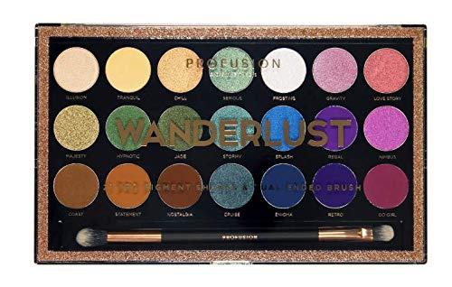 Profusion Cosmetics - Profusion Cosmetics 21 Shade Wanderlust Palette