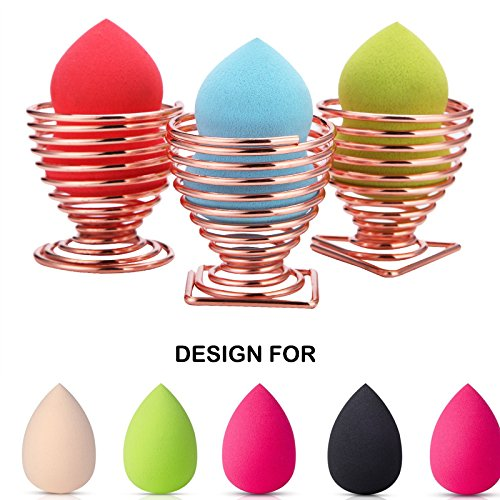 LanMa - LanMa Beauty Blender Sponge Holder,Makeup Puff Sponge Display Drying Holder Rack (3 Pack of Set)