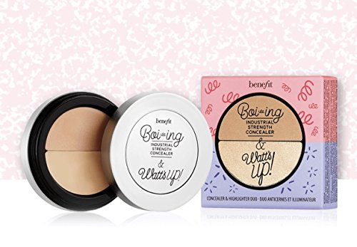Benefit Boi-ing Concealer & highlighter duo - Benefit Boi-ing Concealer NO. 2 & Watts Up! Soft Focus Highlighter DUO - 2x 1.4g