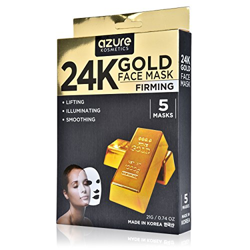 Azure Cosmetics 24K Gold Firming Face Mask