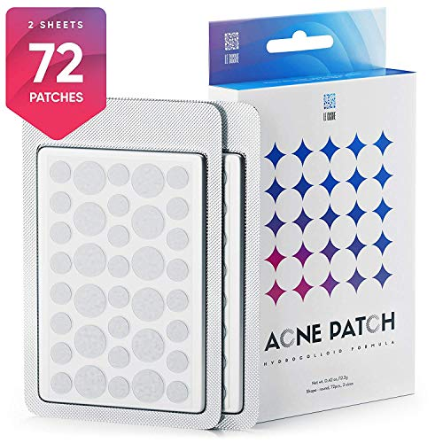 Le Gushe - Acne Pimple Master Patch 72 dots - Absorbing Hydrocolloid Blemish Spot Skin Treatment and Care Dressing