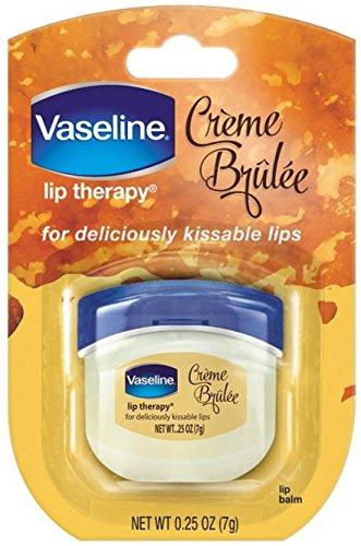 Vaseline - Vaseline Lip Therapy Lip Balm, Creme Brulee 0.25 oz (Pack of 12)