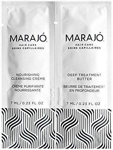 Miny Beauty Cosmetics - Marajo Haircare Nourishing Cleansing Creme & Deep Treatment Butter Sample Packet