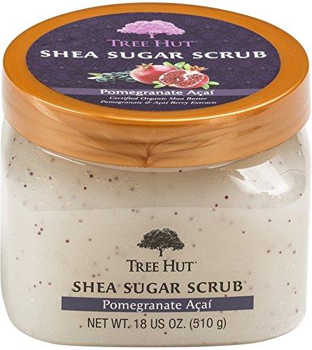 Tree Hut - Tree Hut Shea Sugar Scrub, Pomegranate Acai 18 oz (Pack of 5)