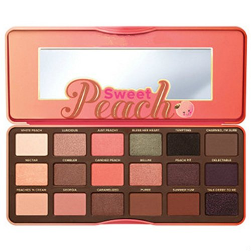 null - 18 color sweet peach eye shadow Collection Palette