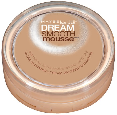 Maybelline New York - Maybelline New York Dream Smooth Mousse Foundation, Natural Buff, 0.49 Ounce