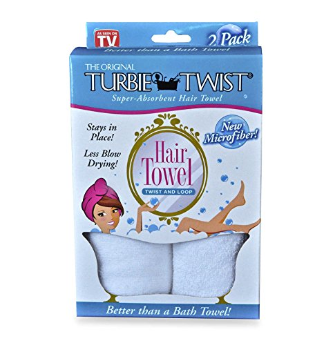 Turbie Twist - Microfiber Hair Towel