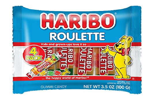 Haribo - Haribo Roulette 4 pack, 3.5 ounces
