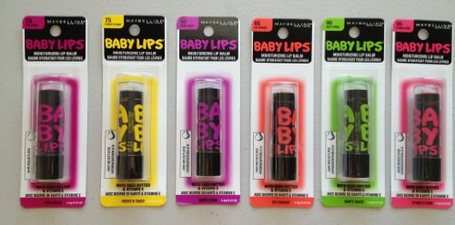 Maybelline - Baby Lips Set of 6 Electro Shades