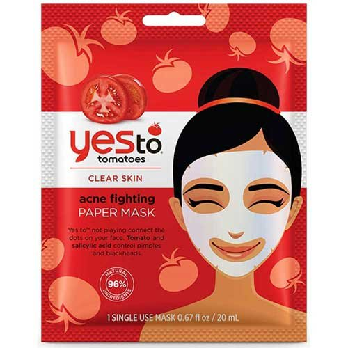 Yes To - Tomatoes Clear Skin Paper Mask