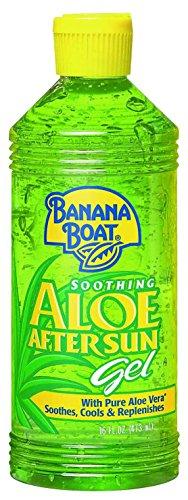 Banana Boat - Banana Boat Aloe Vera Sun Burn Relief Sun Care After Sun Gel - 16 Ounce (Pack of 3)