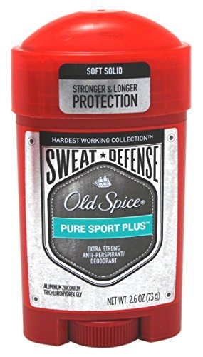 Old Spice - Anti-Perspirant, Pure Sport+ Soft Solid