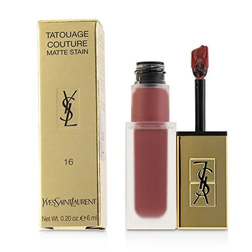 Yves Saint Laurent Tatouage Couture Liquid Matte Lip Stain, Nude Emblem No.16