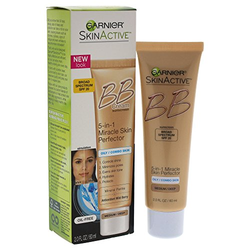 Garnier - Garnier SkinActive BB Cream Face Moisturizer For Oily/Combo Skin, Medium/Deep, 2 fl. oz.