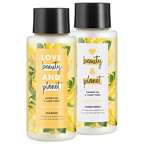 Love Beauty And Planet - Shampoo and Conditioner, Coconut Oil & Ylang Ylang