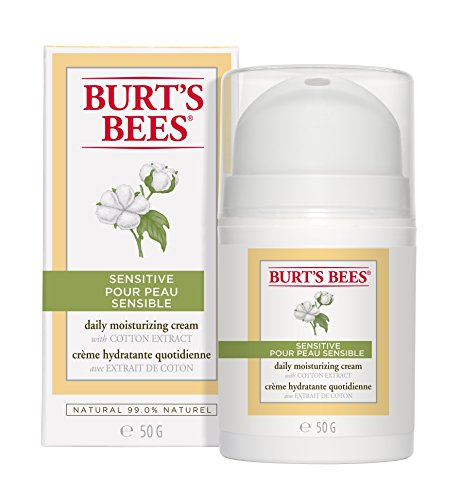 Burt's Bees - Burt's Bees Daily Face Moisturizer Cream for Sensitive Skin, 1.8 Ounces (Packaging May Vary)