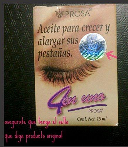 Prosa - PROSA 4 en uno aceite para crecer y alargar pestanas-oil treatment to grow and lengthen eylashes
