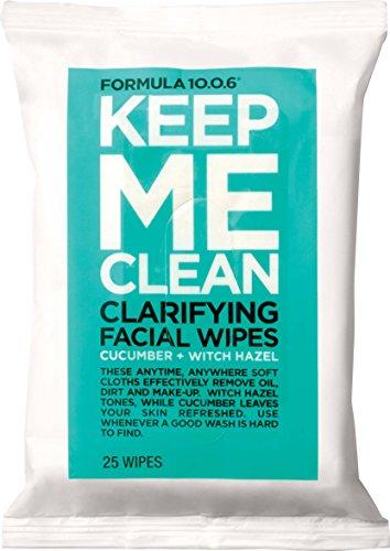 Formula Ten-O-Six Keep Me Clean Facial Wipes