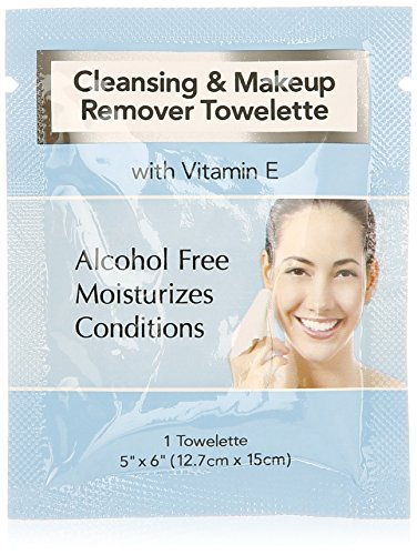 MT - MT Facial Makeup Remover Wipes Ind. Wrapped 500/cs
