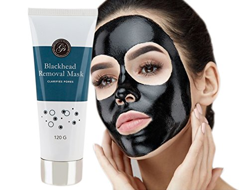 Grace & Stella Co. - Blackhead Remover Peel Off Face Mask (120g) - Purifies & Deep Cleanses Clogged Pores - Use as Nose Strip - Facial Removal Mask by Grace & Stella Co.