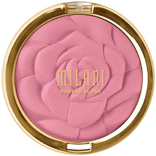 Milani Milani Rose Powder Blush, Tea Rose 0.60 oz (Pack of 8)