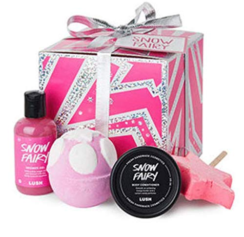 Lush Cosmetics - Snow Fairy Wrapped Gift