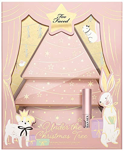 Too Faced - Under the Christmas Tree Makeup Palette and Mascara