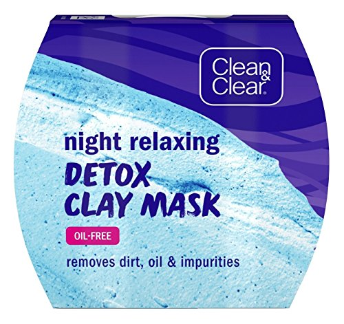 Clean & Clear - Night Relaxing Detox Clay Mask
